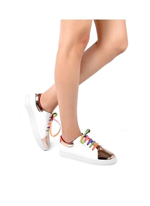 Sapin Sneaker Ayakkabı Gümüş